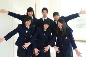 大川学園高等学校制服画像